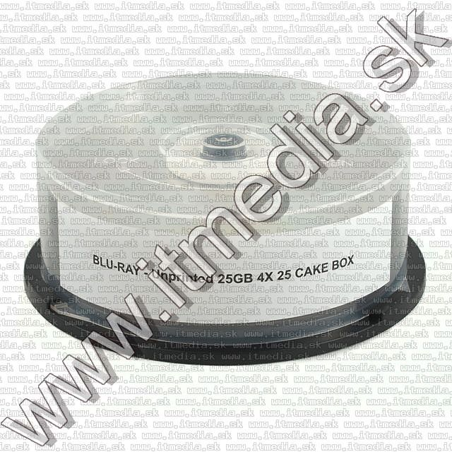 Image of IT Media BluRay BD-R 4x (1 layer) *OEM* 25cake (RM) MBI-R06-000 (IT7462)