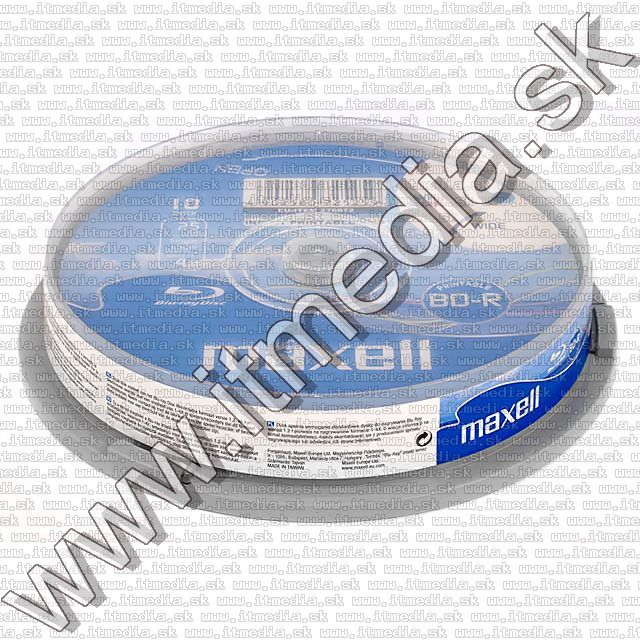 Image of Maxell BluRay BD-R 4x (1 layer) 10cake 25GB *fullprint* (IT7439)