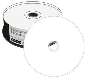 Image of MediaRange BluRay BD-R 6x (2 layer) 50GB *Printable* 25cake (IT12904)