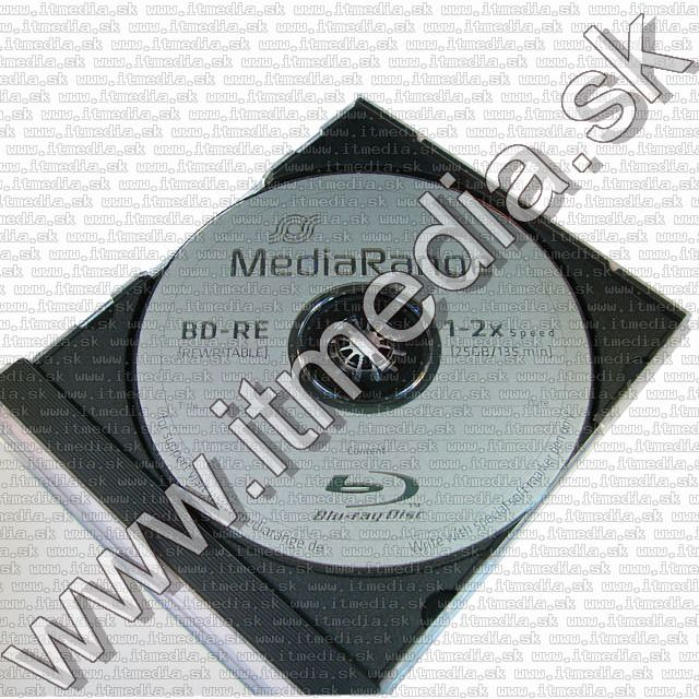 Image of Mediarange BluRay BD-RE 2x (1 layer 25GB) NormalJC *rewritable* (IT9895)