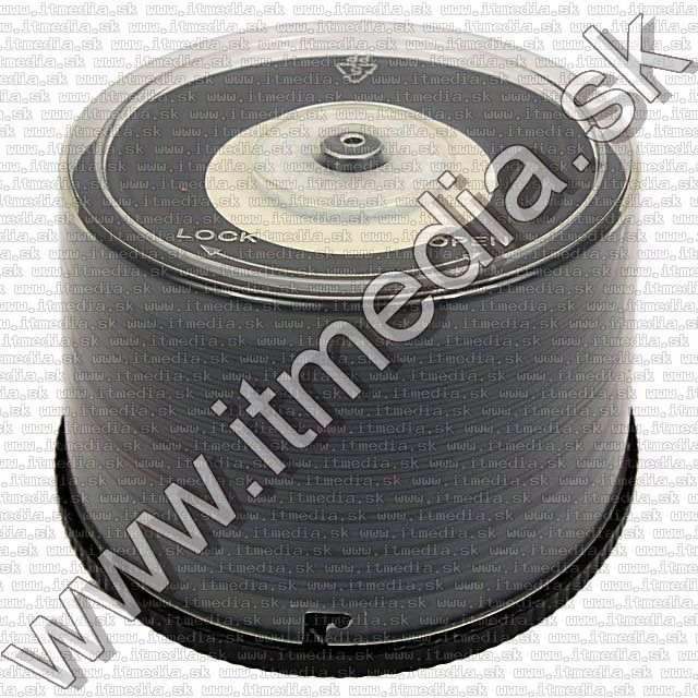 Image of IT Media *Black Vinyl* CD-R 52x *PRINTABLE* 50cake (IT9399)
