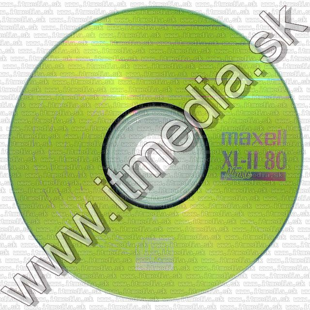 Image of Maxell CD-R 80min -AUDIO- NormalJC Music XL-II 80 (IT5554)