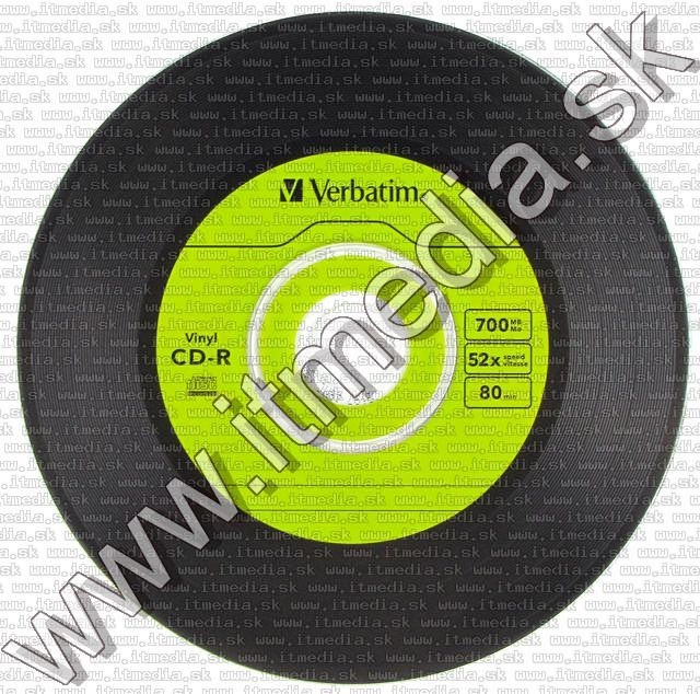 Image of Verbatim CD-R BAKELIT design SlimJC (VINYL) 43426 (IT5098)