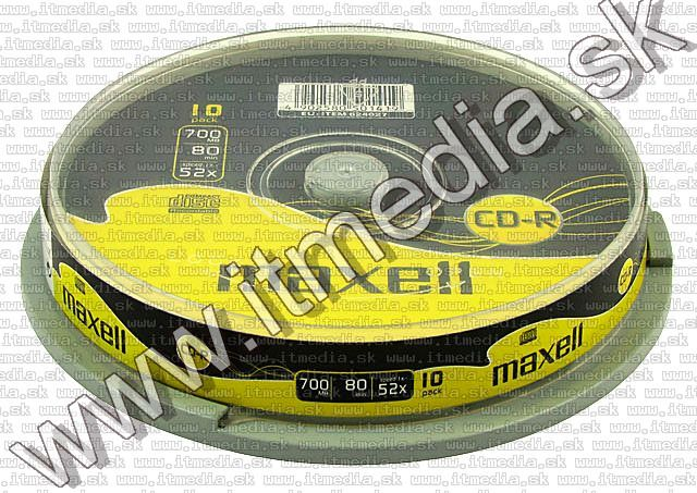 Image of Maxell CD-R 52x 10cake (IT5847)