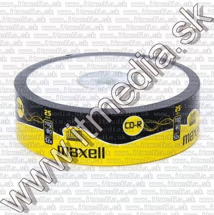 Image of Maxell CD-R 52x 25cw (IT2214)