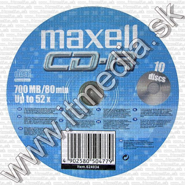Image of Maxell CD-R 52x 10cw (IT5381)