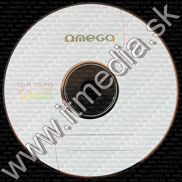 Image of Omega CD-R 52x 25cake INFO! (IT3785)