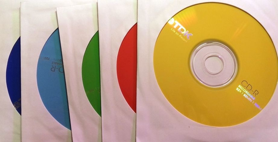 Image of TDK CD-R 52x paper Color Mix (IT13380)