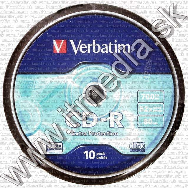Image of Verbatim CD-R 52x 10 cake Extra protection (43437) (IT3738)