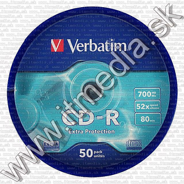 Image of Verbatim CD-R 52x 50cake Extra Protection (43351) (IT4582)