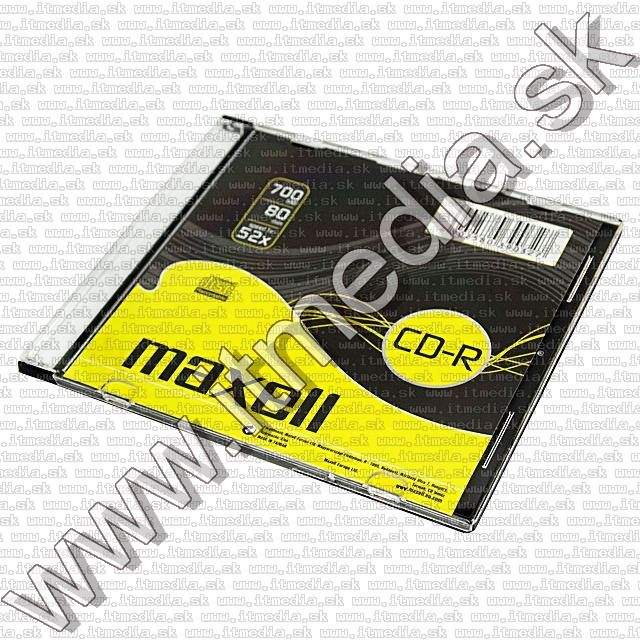 Image of Maxell CD-R 52x SlimJC (IT8878)