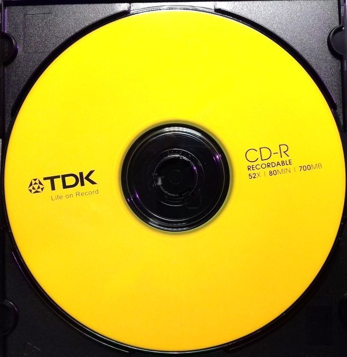 Image of TDK CD-R 52x SlimJC Color Mix (IT13381)