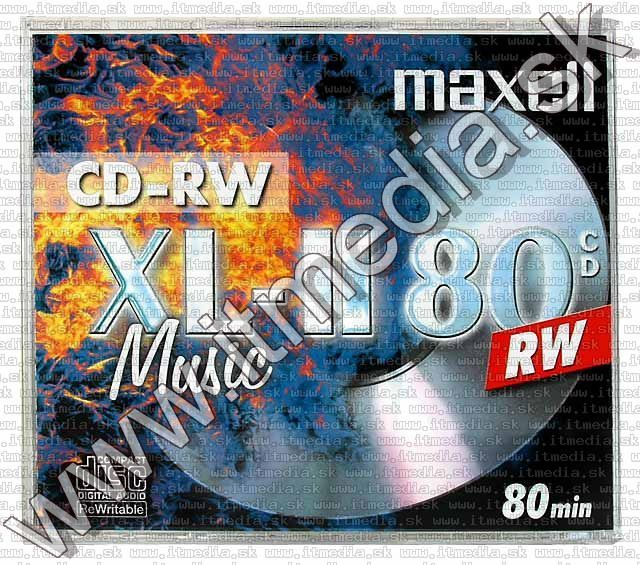 Image of Maxell ---CD-RW--- AUDIO NormalJC (IT5151)