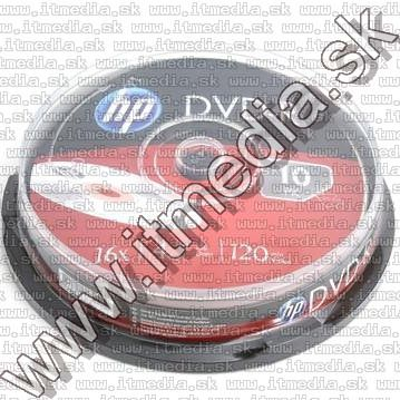 Image of HP DVD-R 16x 10cake (IT10529)