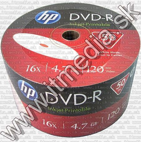 Image of HP DVD-R 16x **50cw** Fullprint CMC (IT10304)