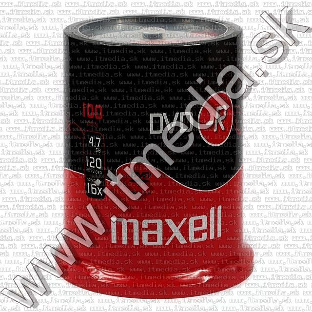 Image of Maxell DVD-R 16x 100cake (IT7728)