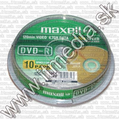 Image of Maxell DVD-R 16x 10cake (IT8261)