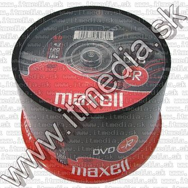 Image of Maxell DVD-R 16x 50cake (IT10578)