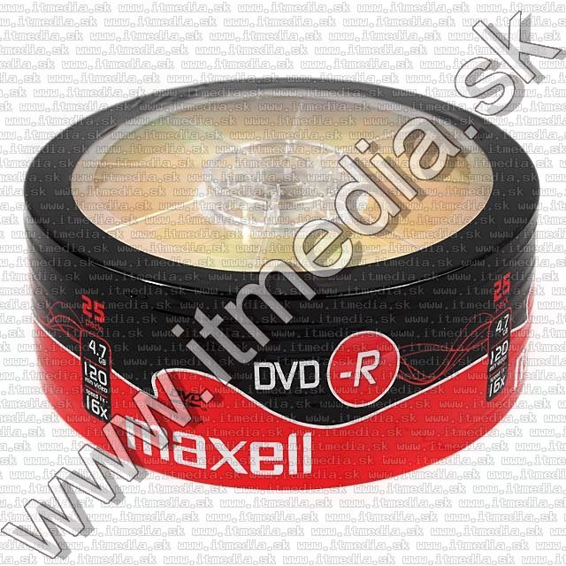 Image of Maxell DVD-R 16x 25cw (IT2548)