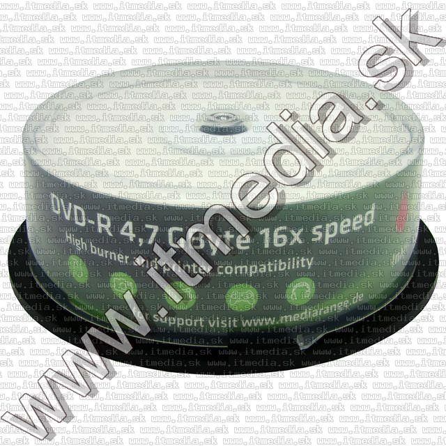 Image of Mediarange DVD-R 16x 25cake *fullprint* (IT6954)