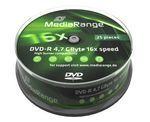 Image of Mediarange DVD-R 16x 25cake (IT6932)