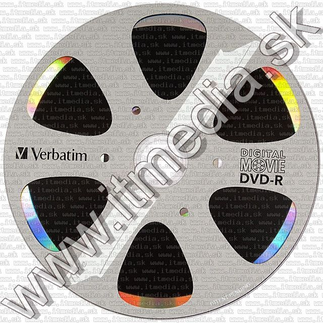 Image of Verbatim DVD-R 8x 10cw **Digital Movie** *EOL* Blister*(96856) Taiwan (IT13444)
