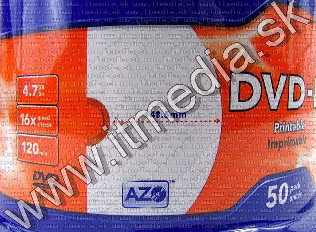 Image of Verbatim DVD-R 16x 50cake **FULLPRINT NO-ID** (43533) (IT6196)