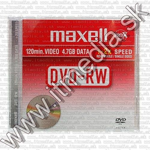 Image of Maxell DVD-RW 2x NormalJC (Kifutó) (IT11429)