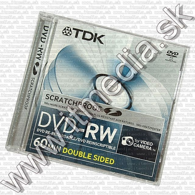 Image of TDK ****mini**** DVD-RW 2x 2.8GB Double Sided ScratchProof (IT8011)