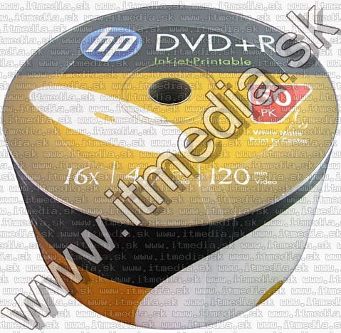 Image of HP DVD+R 16x 50cw FullPrint (IT10306)