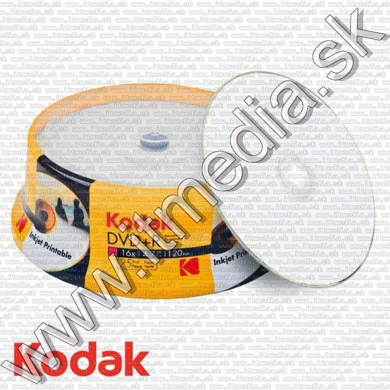 Image of Kodak DVD+R 16x 25cake *Printable* (IT13222)