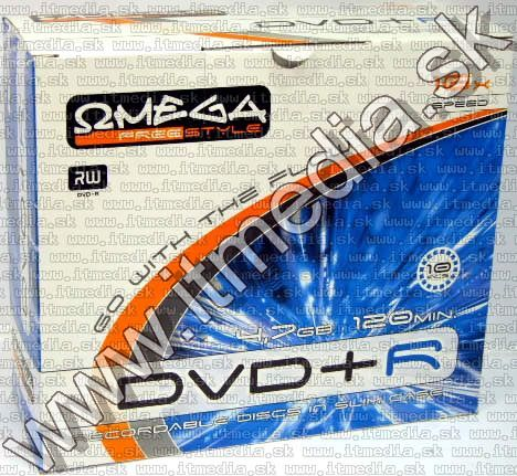 Image of Omega Freestyle DVD+R ***16x*** SlimJC (IT3813)