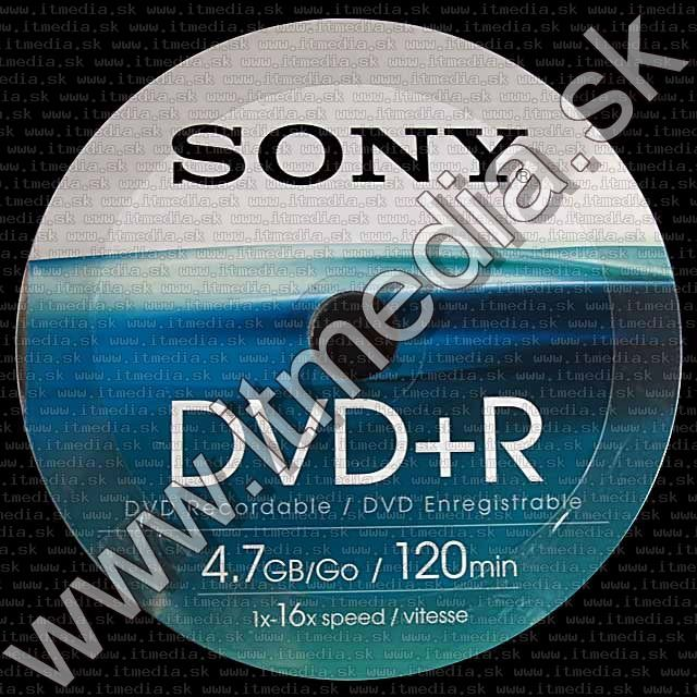 Image of Sony DVD+R 16x 50cw (IT2115)