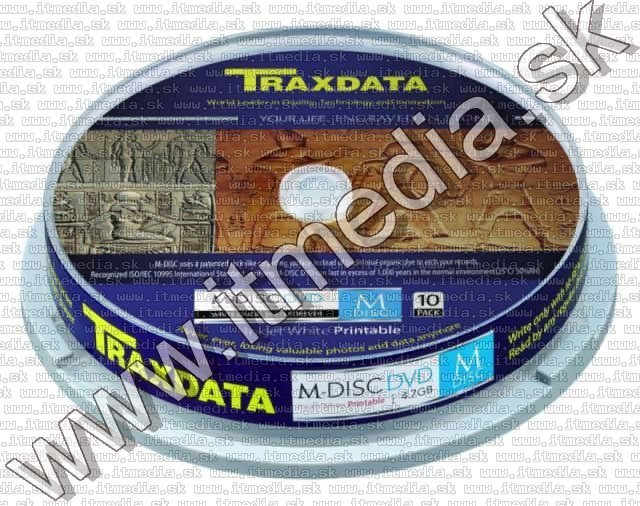 Image of Traxdata M-DISC DVD 4x 10cake  *1000year* !info (IT10486)
