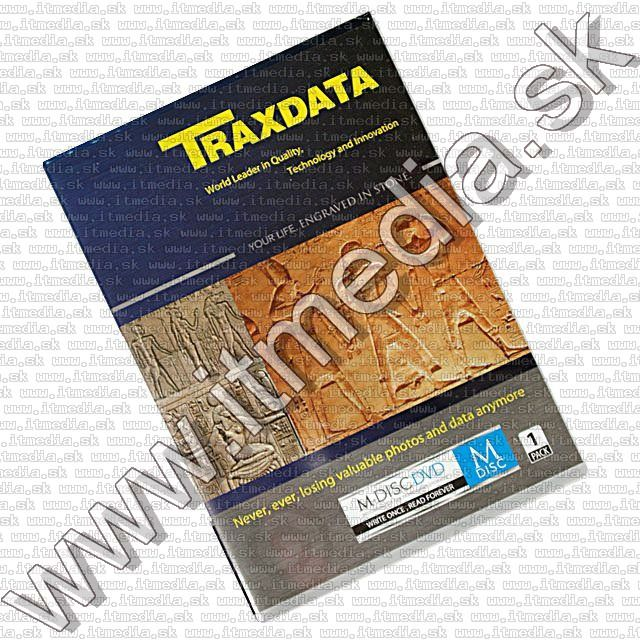 Image of Traxdata M-DISC DVD 4x Dvdbox  *1000year* (1pc BULK) !info (IT9655)