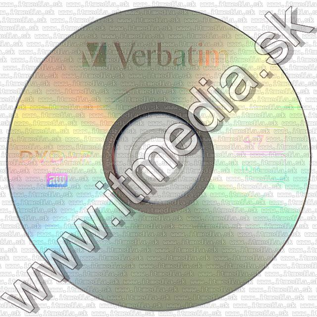 Image of Verbatim DVD+R 16x 25cake *Taiwan* (43500) (IT10224)