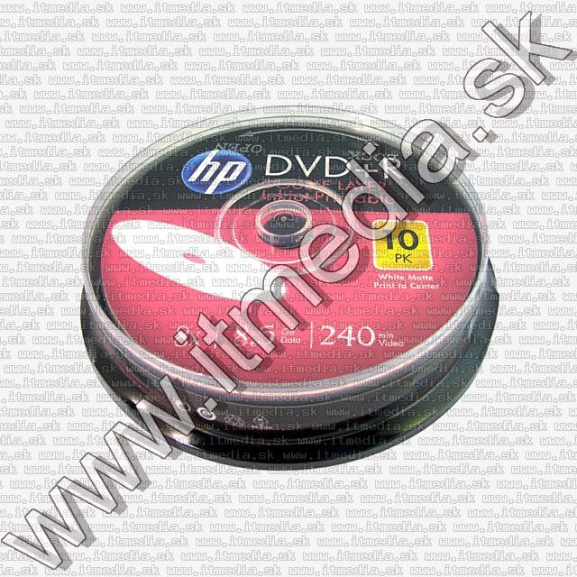 Image of HP DVD+R Double Layer 8x 10cake *FULLPRINT* (IT10722)