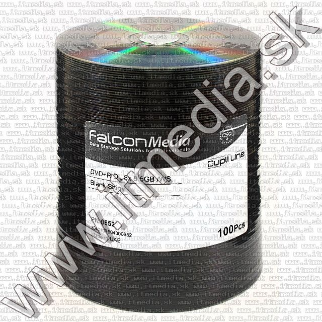 Image of IT Media DVD+R Double Layer 8x 100cw *OEM* Silver (FTI) (IT7922)