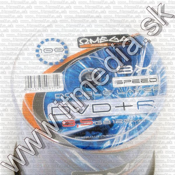 Image of Omega Freestyle DVD+R Double Layer 8x 100cake (IT8638)