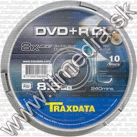 Image of Traxdata DVD+R Double Layer 8x 10cake (IT6331)