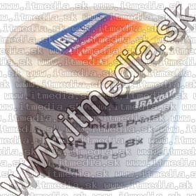 Image of Traxdata DVD+R Double Layer 8x 50cw **printable** (IT6943)