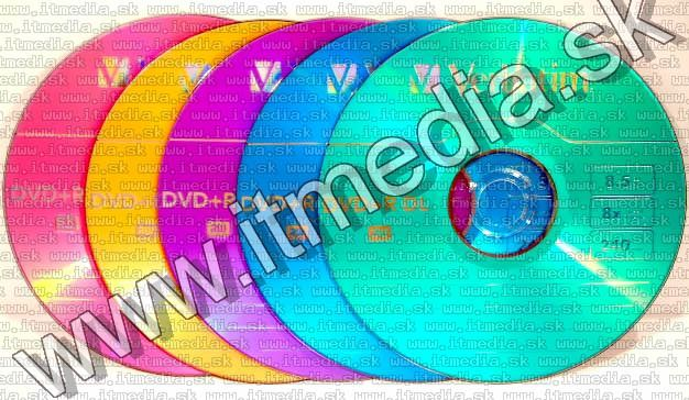 Image of Verbatim DVD+R Double Layer 8x SlimJC *COLOR* 5pack (IT6340)