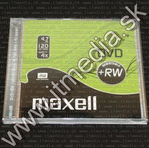 Image of Maxell DVD+RW 4x NormalJC (IT10747)