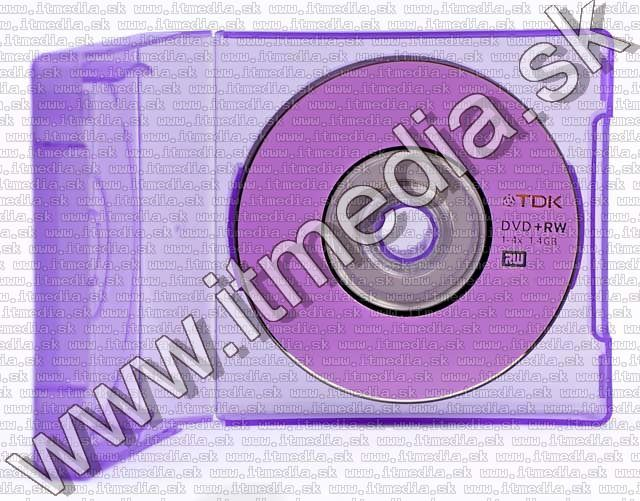 Image of TDK ****mini**** DVD+RW 4x 1.4GB Snap-n-Save (IT5199)