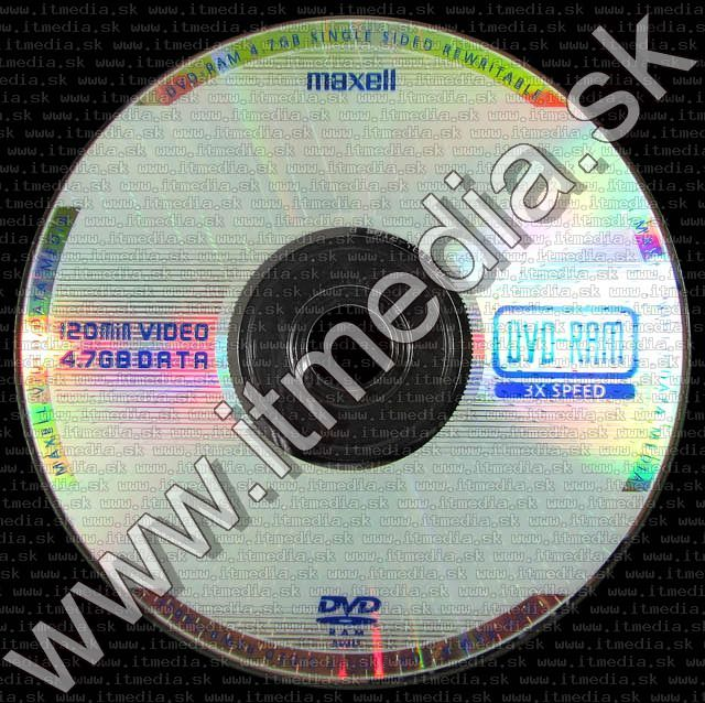 Image of Maxell DVD-RAM 1 side Paper (IT5842)