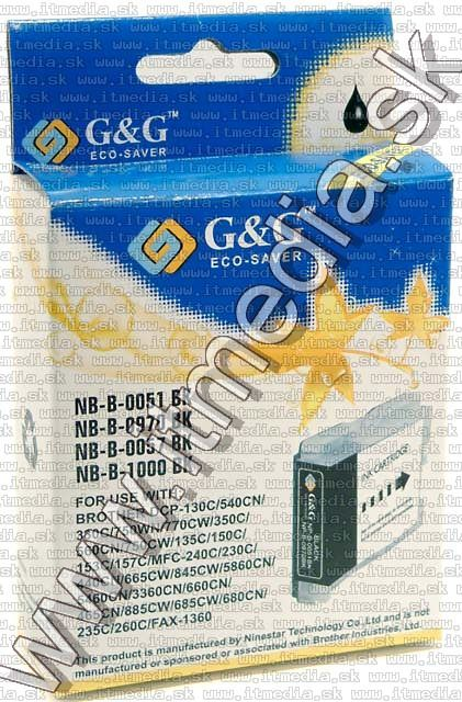 Image of Brother ink (GnG) LC51 B57 black 1000 (IT4248)
