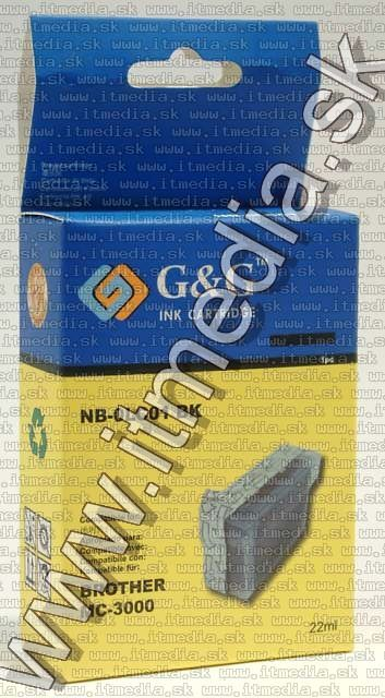 Image of Brother ink (GnG) LC01 black 22ml (IT4799)