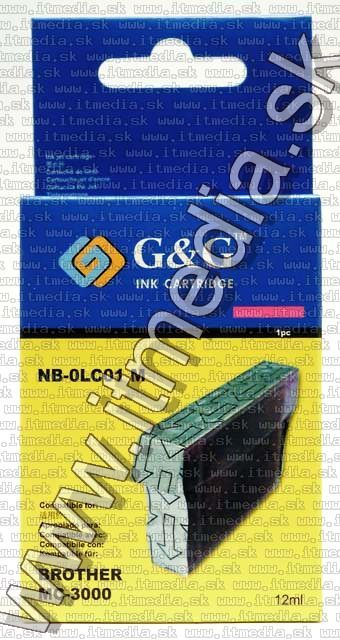 Image of Brother ink (GnG) LC01 magenta 12ml (IT4801)