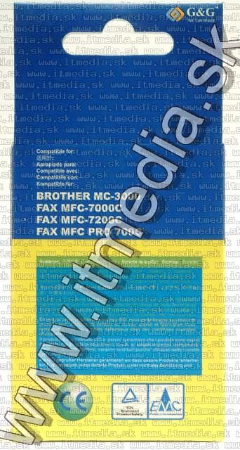 Image of Brother ink (GnG) LC01 yellow 12ml (IT4802)