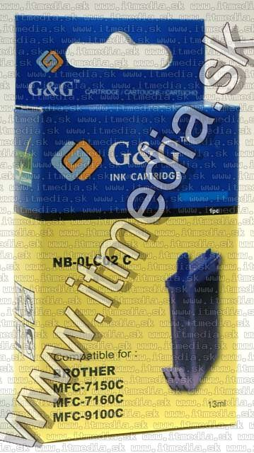 Image of Brother ink (GnG) LC02 cyan 13ml (IT4804)